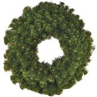 Christmas at Winterland WL-GWSQ-02 2 Foot Sequoia Wreath - green - N/A