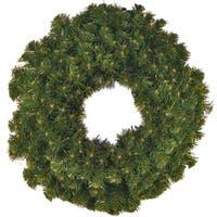Christmas at Winterland WL-GWSQ-05 5 Foot Sequoia Wreath - green - N/A