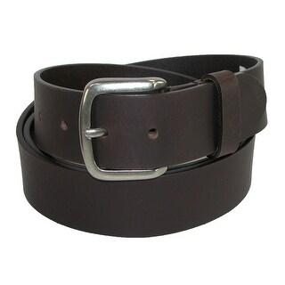 Dickies Men's Leather 40mm Cut Edge Bridle Belt