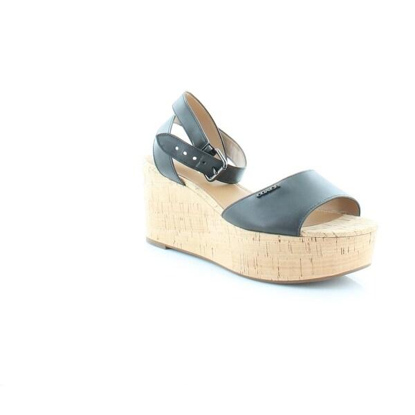 Coach Becka Women's Sandals & Flip Flops Black