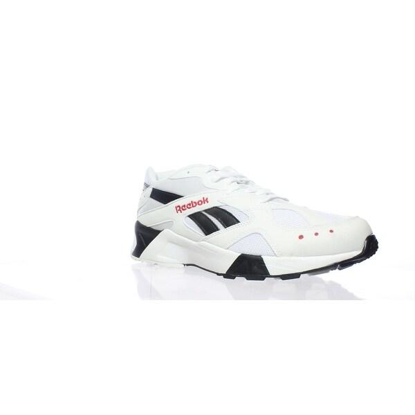 3dbe6870 Shop Reebok Mens Aztrek White Running Shoes Size 10.5 - Free ...