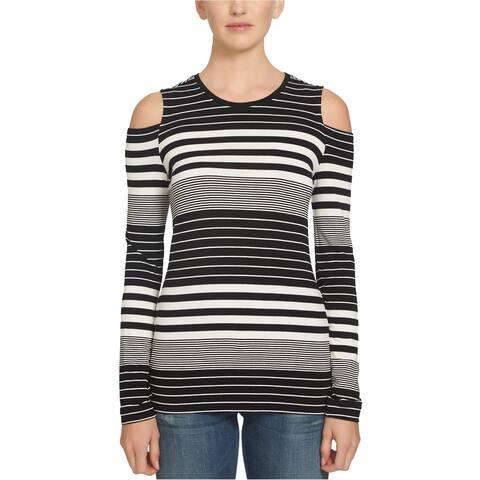 1.State Womens Knit Basic T-Shirt