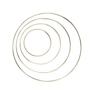 Pepperell Braiding Brass Ring, 4 in Dia