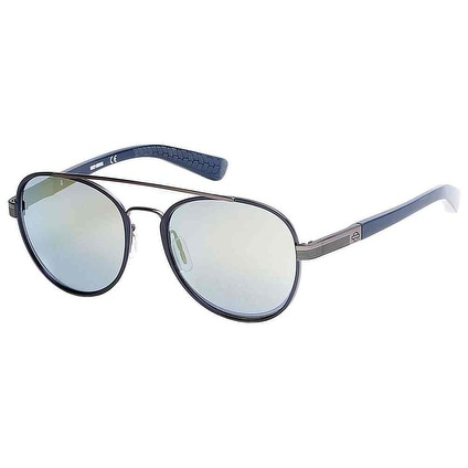 1d6db57119379 Shop Harley-Davidson Men s Black Label Aviator Metal Sunglasses ...