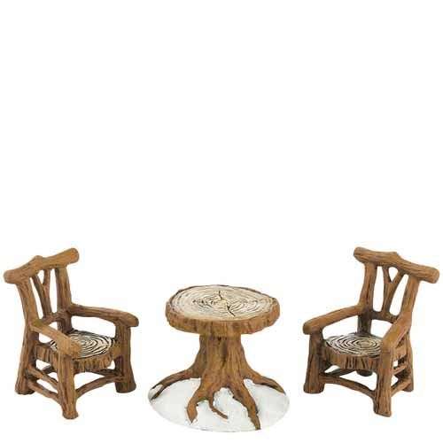 Woodland Table and Chairs