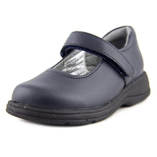 School Issue Prodigy W Round Toe Leather Mary Janes