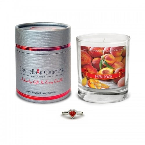 Peach Jewelry Candle - Surprise Me