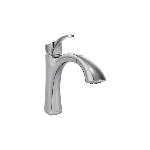 Shop Moen 9125 Voss Pullout Spray Kitchen Faucet With