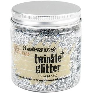 Stampendous Frantage Vintage Twinkle Glitter-Silver