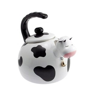 Supreme Housewares 71508 Cow Whistling Tea Kettle