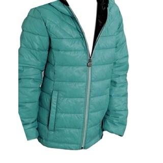 Roper Western Jacket Girls Quilted Fun Turquoise 03-298-0693-0483 BU