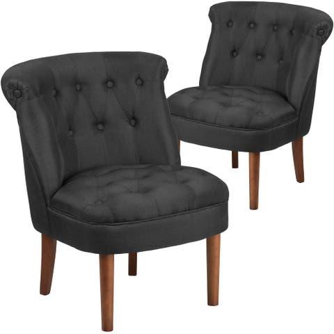 2 Pk. Tufted Chair