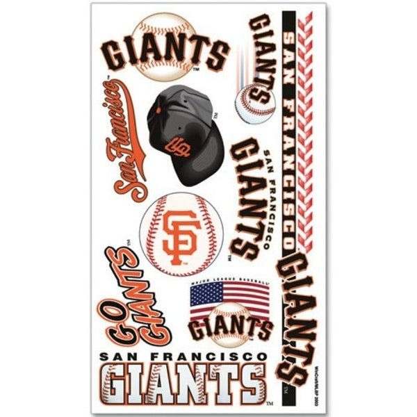 San Francisco Giants Temporary Tattoos. Opens flyout.