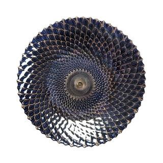 Iridescent Medium Decorative Plate