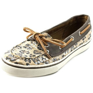 Sperry Top Sider Bahama Moc Toe Canvas Boat Shoe