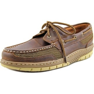 Sperry Top Sider Tarpon Ultralite Moc Toe Leather Boat Shoe