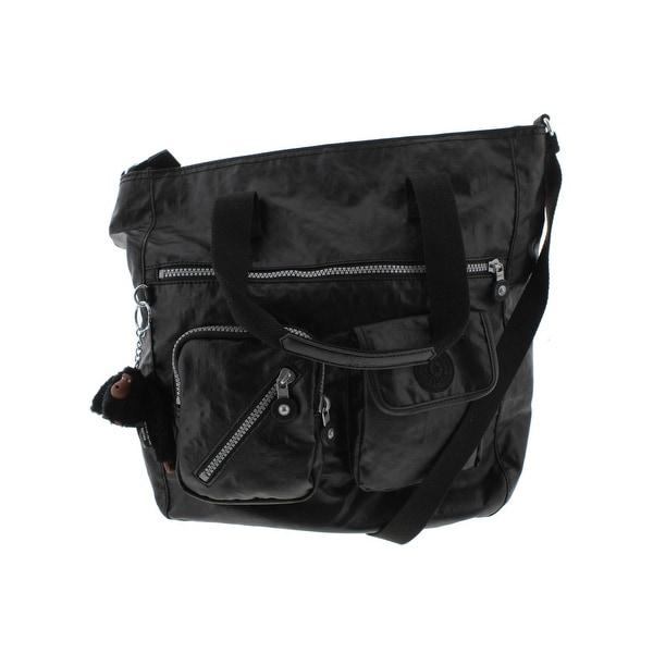 Shop Kipling Womens Johanna Tote Handbag Nylon Adjustable Strap ... 6d64b906c8076