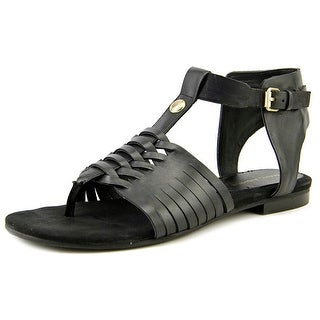 Marc Fisher Lea Women Open-Toe Leather Fisherman Sandal