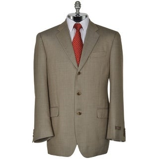 Joseph Abboud Signature Taupe Silk and Wool Sportcoat 42 Long 42L Blazer