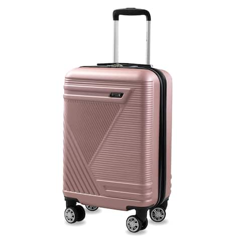 American Sport Plus Abstract 22 in. Carry-On Expandable Suitcase