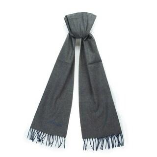 St. Dupont Paris 100WS TB Taupe/Blue 100% Cashmere Classic Mens' Scarf