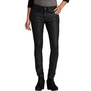 Eileen Fisher Womens Skinny Jeans Coated Low-Rise - 16
