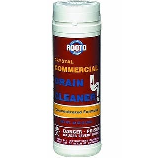 Rooto 1033 Commercial Drain Cleaner, 2 lb|https://ak1.ostkcdn.com/images/products/is/images/direct/1f91f3cdc279de1e5c8af558e65622595047876d/Rooto-1033-Commercial-Drain-Cleaner%2C-2-lb.jpg?impolicy=medium