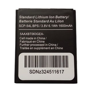 Battery for Kyocera SCP-54LBPS Single Pack Replacement Battery