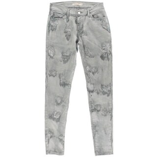 Levi's Womens Embroidered Light Skinny Jeans - 26