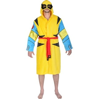 Marvel Universe X-Men Wolverine Mens Costume Bath Robe