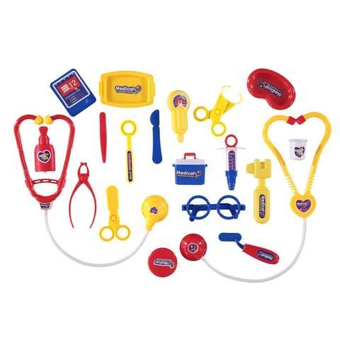 Lollipop 20-Piece Doctor Medical Kit Play Set