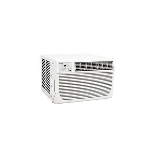 Koldfront WAC8001W 8000 BTU 115V Window Air Conditioner with 3500 BTU Heater and Remote Control - White - N/A