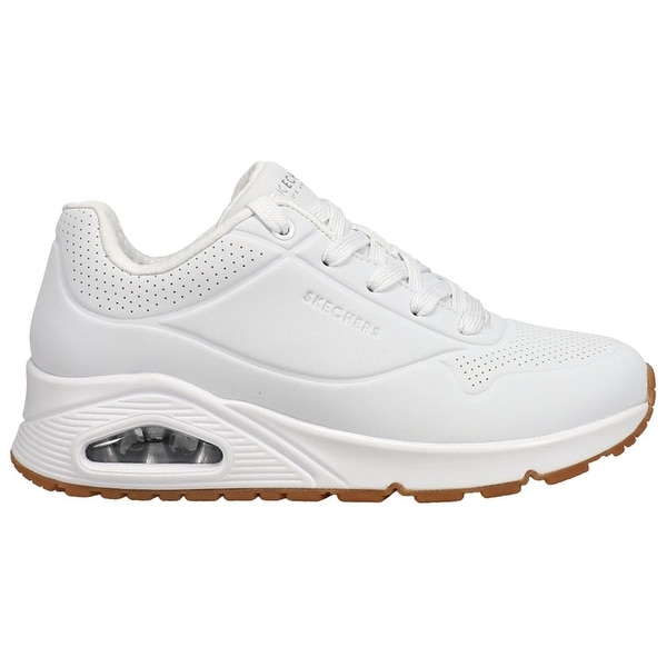 Skechers Uno Stand On Air Womens Sneakers Shoes Casual - White. Opens flyout.
