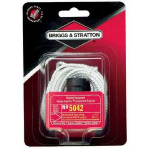 Briggs & Stratton 5042K Starter Rope & Grip