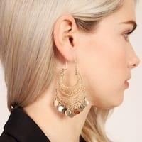 Riah Fashion's Chandelier Gypsy Dangling Earrings