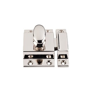 """Top Knobs M1784 Additions Collection 2"""" Polished Nickel Cabinet Latch - Polished Nickel"""
