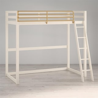 Link to Little Seeds Monarch Hill Haven Twin Metal Loft Bed Similar Items in Kids' & Toddler Furniture