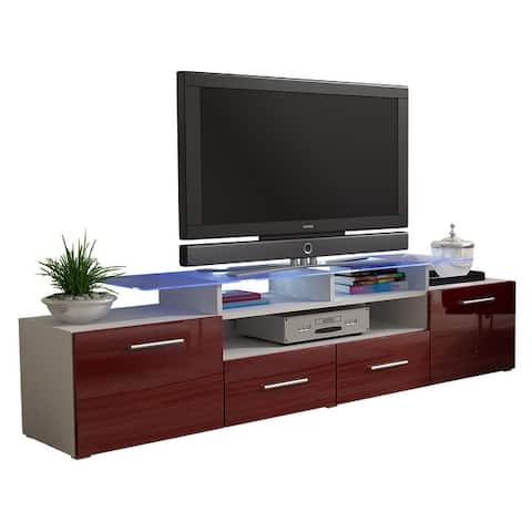 EVORA High Gloss TV Stand
