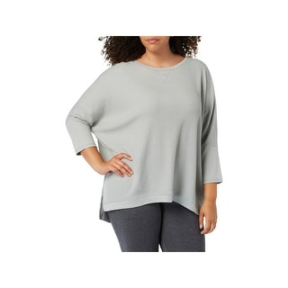 Calvin Klein Performance Womens Plus Pullover Top Fitness Running