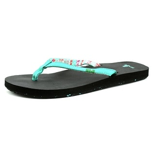 Sanuk Maritime 2 Youth Open Toe Synthetic Blue Flip Flop Sandal