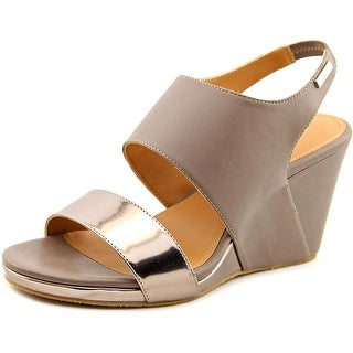 Calvin Klein Bertha Women Open Toe Synthetic Wedge Heel