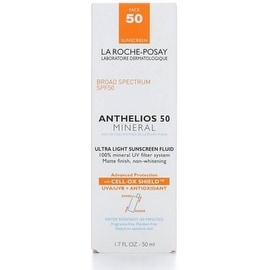 La Roche-Posay Anthelios 50 Mineral Ultra Light Sunscreen Fluid, SPF 50 1.7 oz