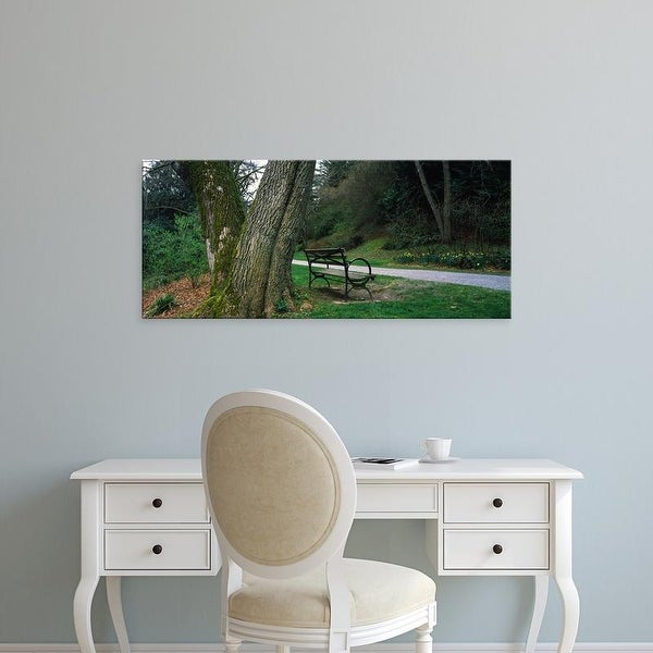 Easy Art Prints Panoramic Images's 'Trees in a park, Washington Park, Seattle, Washington State, USA' Canvas Art