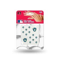 MLB Milwaukee Brewers Nail Tattoos