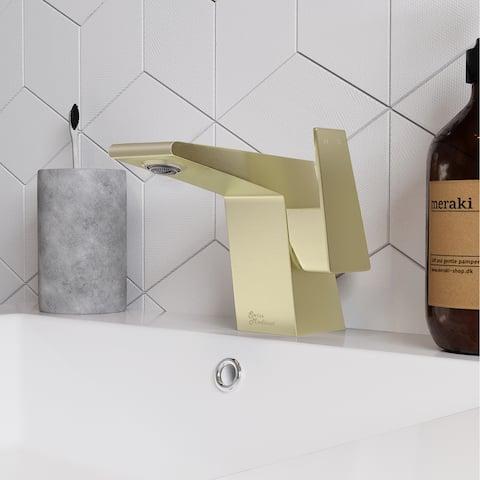 Carre Single 5.5 Handle Bathroom Faucet