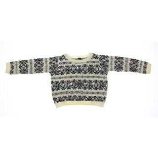 Jessica Simpson Girls Snowflake Pullover Sweater Sequined - 6x