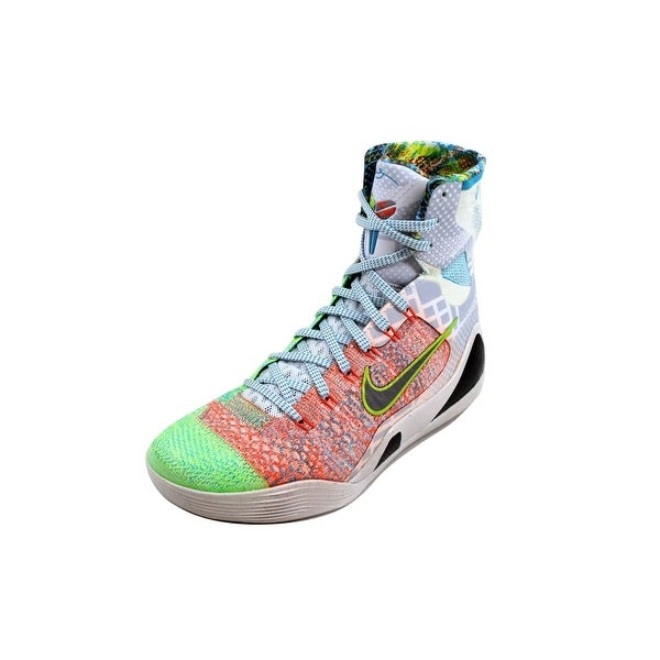 best sneakers 8e812 b4287 Nike Men  x27 s Kobe IX 9 Elite Premium Multi Color Reflect Silver