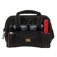 "CLC 1533 12"" Tool Bag With Plastic Tray, 16 Pockets"