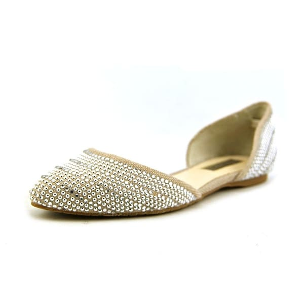 INC International Concepts Crescente 5 Round Toe Canvas Flats