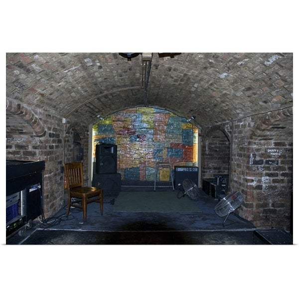 """""""Interior of the Cavern Club, Liverpool, England"""" Poster Print"""